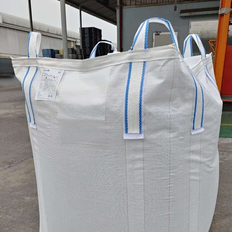 Big bag with colour identification loops