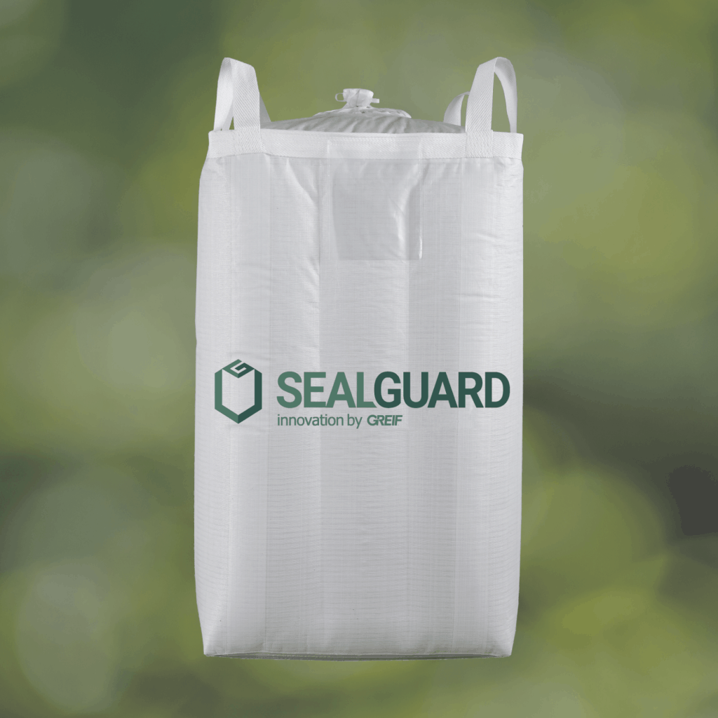 SealGuard är en storsäck som är 100% tät
