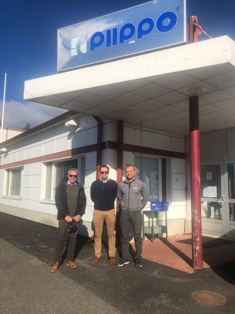 Accon Greentech AB besöker Piippo